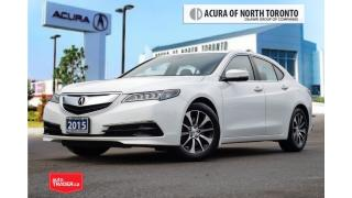 Used 2015 Acura TLX 2.4L P-AWS Accident Free| Back-Up| Bluetooth for sale in Thornhill, ON