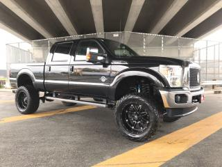 """Used 2012 Ford F-350 Lariat FX4 Massive LIFT 22"""" Fuel Wheels & 37"""" AMP for sale in Langley, BC"""