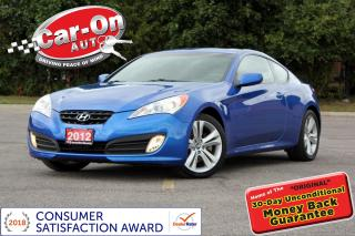 Used 2012 Hyundai Genesis Coupe 2.0T LEATHER SUNROOF HTD SEATS ALLOYS for sale in Ottawa, ON