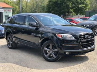 Used 2007 Audi Q7 LOW KMS 3.6L Quattro S-Line Leather Pano Roof Navi for sale in Holland Landing, ON