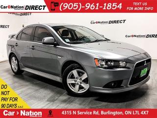 Used 2014 Mitsubishi Lancer SE|WE WANT YOUR TRADE|OPEN SUNDAYS| for sale in Burlington, ON