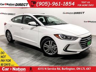Used 2018 Hyundai Elantra GLS|BACK UP CAMERA|PUSH START| for sale in Burlington, ON