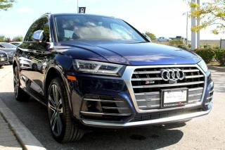 Used 2018 Audi SQ5 3.0T Technik + Virtual Cockpit | Bang & Olufsen for sale in Whitby, ON