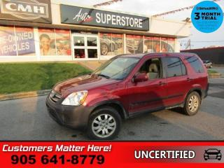 Used 2005 Honda CR-V EX  AS IS (UNCERTIFIED) AS TRADED IN for sale in St. Catharines, ON