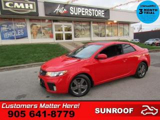 Used 2012 Kia Forte Koup EX  ROOF HEATED SEATS PWR-GROUP GRY-ALLOYS for sale in St. Catharines, ON