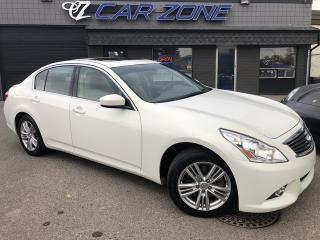 Used 2012 Infiniti G37 Sedan Luxury AWD BACKUP CAMERA NO ACCIDENTS for sale in Calgary, AB