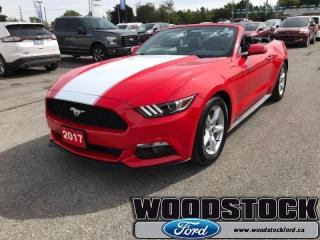 Used 2017 Ford Mustang V6  3.7L, 6 SPEED AUTO, for sale in Woodstock, ON