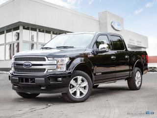 New 2018 Ford F-150 PLATINUM for sale in Winnipeg, MB