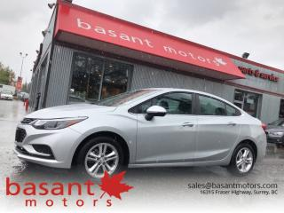 Used 2017 Chevrolet Cruze On the spot Approval! for sale in Surrey, BC