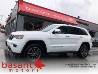 Used 2017 Jeep Grand Cherokee Limited, Leather, Heated Seats, Sunroof!! for sale in Surrey, BC