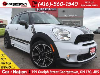 Used 2014 MINI Cooper Countryman Cooper S | JOHN COOPER WORKS | LOW KM | HTD LTHR for sale in Georgetown, ON