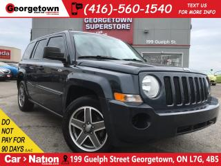 Used 2008 Jeep Patriot Sport/North 4X4 HTD SEATS |PWR OPTIONS |ALLOY RIMS for sale in Georgetown, ON