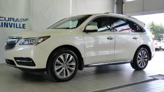 Used 2016 Acura MDX TECH ** SH-AWD ** ACHAT 72 MOIS 3.9% ** for sale in Blainville, QC
