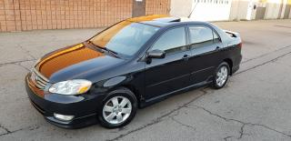 Used 2003 Toyota Corolla Sport for sale in Burlington, ON