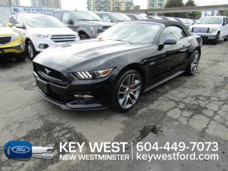 Used 2015 Ford Mustang GT Premium Convertible Leather Nav Cam for sale in New Westminster, BC