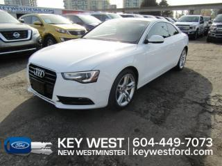 Used 2013 Audi A5 Premium Leather Heated Seats for sale in New Westminster, BC