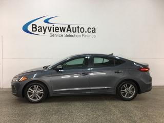 Used 2017 Hyundai Elantra GL - ALLOYS! HTD SEATS! RCTA! BLUETOOTH! CRUISE! for sale in Belleville, ON