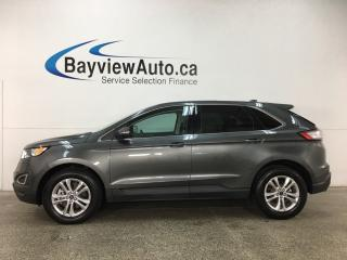 Used 2017 Ford Edge SEL - KEYPAD! PANOROOF! HTD LTHR! NAV! SYNC! WIFI! for sale in Belleville, ON