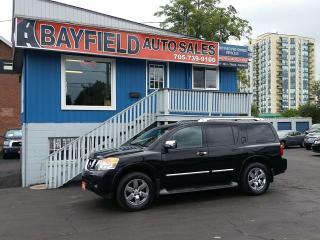 Used 2012 Nissan Armada Platinum 7 Passenger **Navigation/DVD** for sale in Barrie, ON
