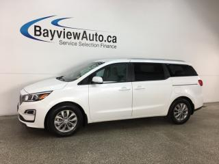Used 2019 Kia Sedona LX - ALLOYS! ECO MODE! HTD SEATS! BLUETOOTH! CRUISE! for sale in Belleville, ON