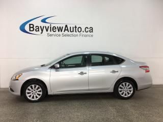 Used 2015 Nissan Sentra 1.8 SV - AUTO! PUSH BTN START! HTD SEATS! A/C! BLUETOOTH! CRUISE! for sale in Belleville, ON