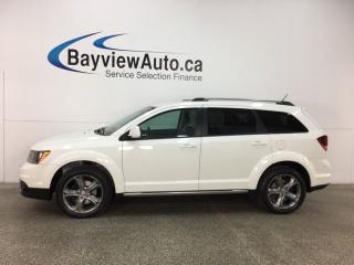 Used 2017 Dodge Journey Crossroad - REM START! HTD LTHR! 3 ZONE CLIMATE! U-CONNECT! ALPINE! for sale in Belleville, ON