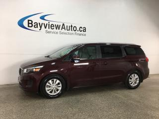 Used 2018 Kia Sedona LX - ALLOYS! ECO MODE! HTD SEATS! BLUETOOTH! CRUISE! WIFI! for sale in Belleville, ON