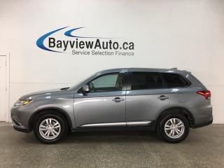 Used 2018 Mitsubishi Outlander ES - AWC! ALLOYS! ECO MODE! HTD SEATS! BLUETOOTH! CRUISE! REVERSE CAM! for sale in Belleville, ON