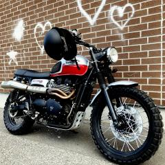 Used 2014 Triumph Scrambler SCRAMBLER 900 With Arrow Exhaust and more! for sale in Kemptville, ON