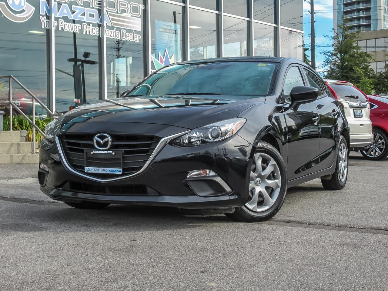 2015 Mazda MAZDA3 LOAD AUTOMATIC HATCHBACK