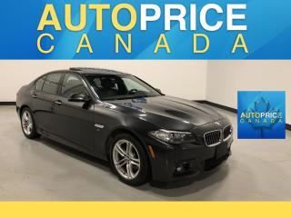 Used 2014 BMW 528 i xDrive M-SPORT PKG|NAVIGATION|MOONROOF for sale in Mississauga, ON