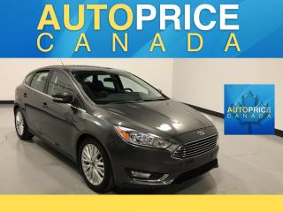 Used 2018 Ford Focus Titanium TITANIUM|MOONROOF|LEATHER for sale in Mississauga, ON