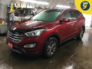 Used 2013 Hyundai Santa Fe LUXURY*AWD*LEATHER*PANORAMIC/SUNROOF*TOUCH SCREEN*HEATED FRONT SEATS/STEERING WHEEL*REAR WINDOW SHADES*STEERING WHEEL CONTROL*VOICE RECOGNITION*PHONE for sale in Cambridge, ON
