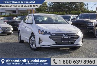 New 2019 Hyundai Elantra for sale in Abbotsford, BC