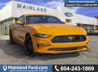 New 2019 Ford Mustang EcoBoost Premium Coupe 200A for sale in Surrey, BC
