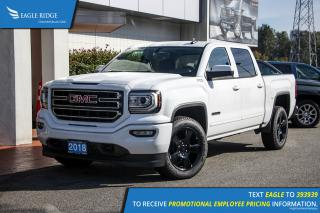 New 2018 GMC Sierra 1500 SLE Navigation, Heated Seats, Backup Camera for sale in Coquitlam, BC