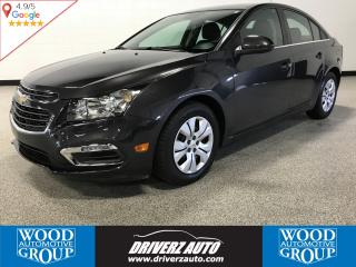 Used 2015 Chevrolet Cruze 1LT REARVIEW CAMERA, ONE OWNER, BLUETOOTH for sale in Calgary, AB