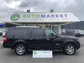 Used 2008 Ford Expedition MAX LIMITED 4WD FINANCE IT! for sale in Langley, BC
