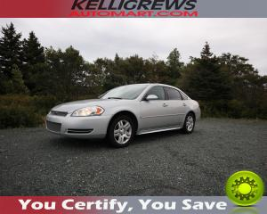 Used 2012 Chevrolet Impala LT for sale in Conception Bay South, NL