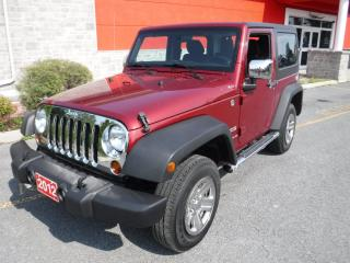 Used 2012 Jeep Wrangler SE for sale in Cornwall, ON