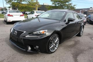 Used 2014 Lexus IS IS 250 | BACKUP | SUNROOF for sale in Toronto, ON