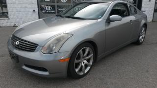 Used 2004 Infiniti G35 leather for sale in Guelph, ON