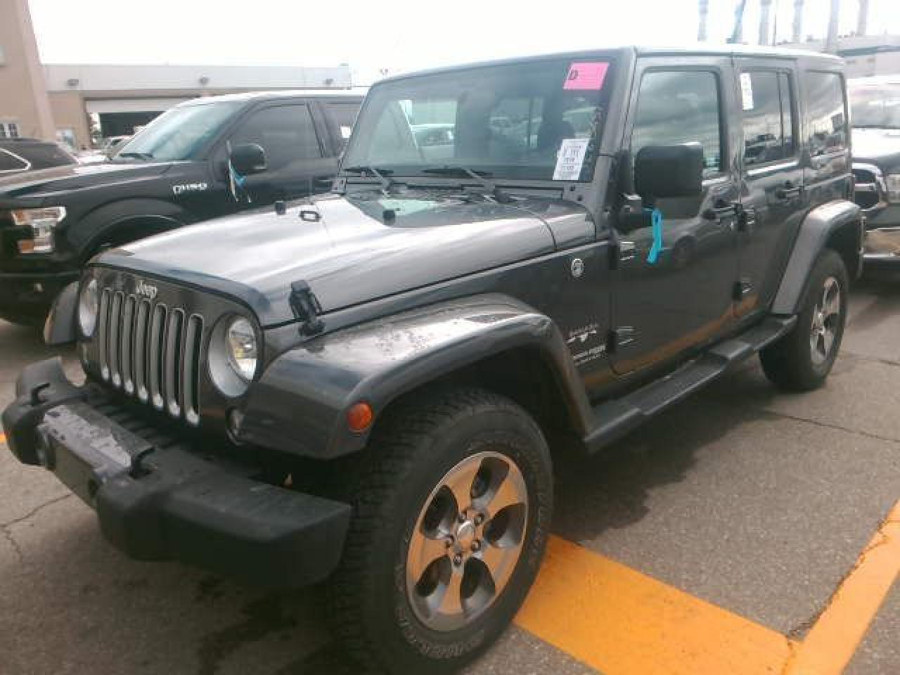 2018 Jeep Wrangler SAHARA UNLTD