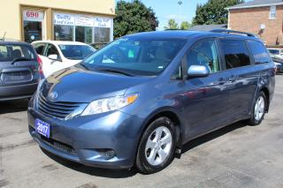 Used 2017 Toyota Sienna LE Power Doors 8 Passengrs for sale in Brampton, ON