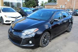 Used 2016 Toyota Corolla S LEATHER SUNROOF for sale in Brampton, ON