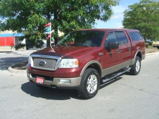 Used 2004 Ford F-150 LARIAT 4X4 TV/DVD for sale in York, ON