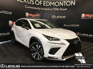 New 2019 Lexus NX 300 F Sport Series 2 for sale in Edmonton, AB