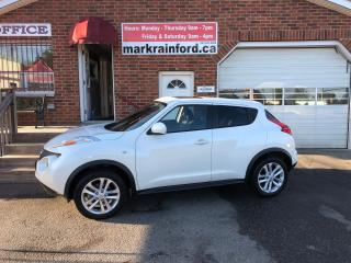 Used 2014 Nissan Juke SL AWD Turbo Navigation Leather Sunroof for sale in Bowmanville, ON