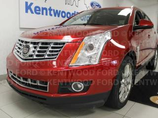 Used 2013 Cadillac SRX SRX4 3.6 with sunroof, heated/cooled power leather seats, push start/stop, back up cam for sale in Edmonton, AB