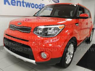 Used 2018 Kia Soul EX FWD heated seats, heated steering wheel, back up cam for sale in Edmonton, AB